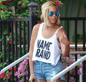Beyonce in Gifted Apparel NYC