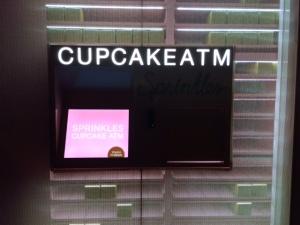 Cupcake ATM at Night
