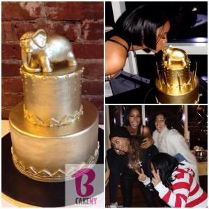 Kelly Rowland's BCakeNY cake