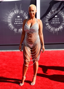 Amber Rose at the 2014 MTV Video Music Awards - Arrivals