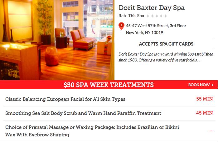 Dorit Baxter Day Spa